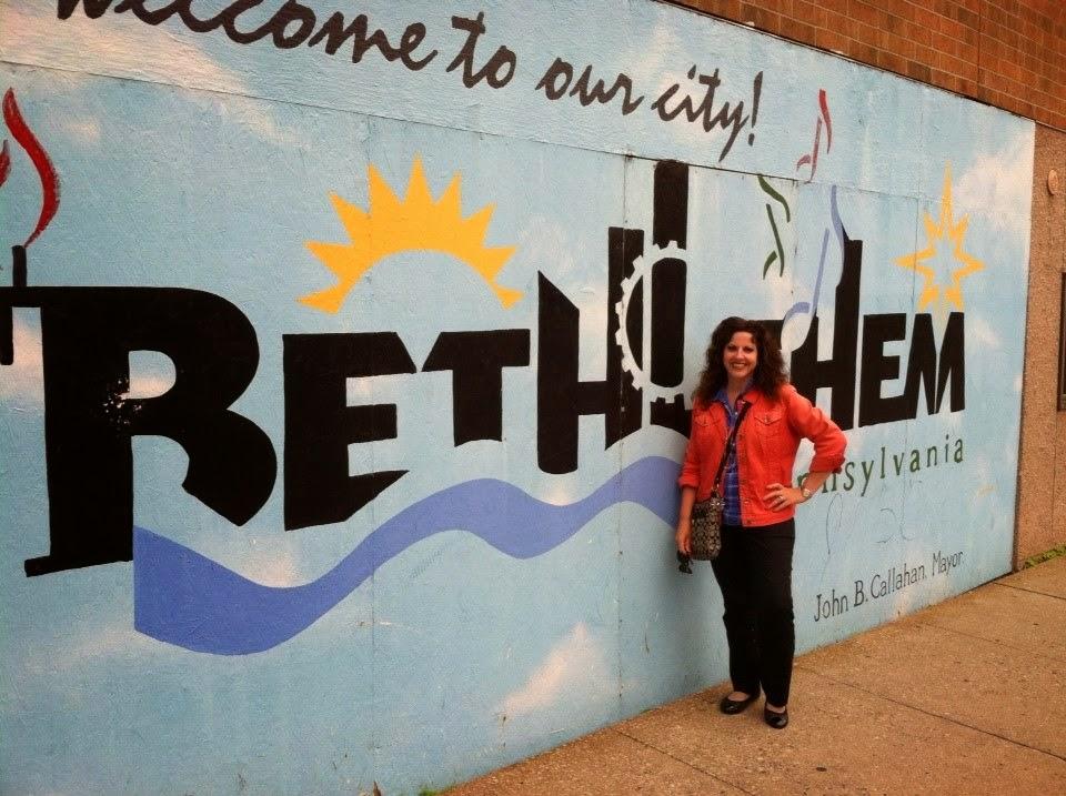 Visit Bethlehem PA with Me