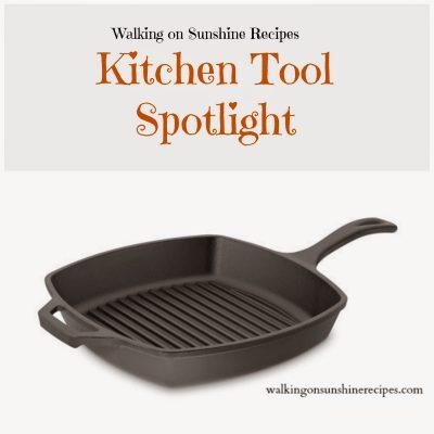 Kitchen: Cast Iron Grill Pan