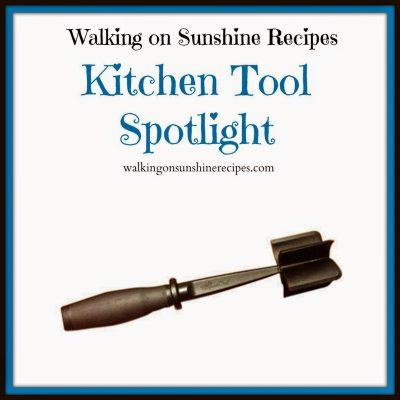 Kitchen Tool Spotlight: Kitchen Chopper