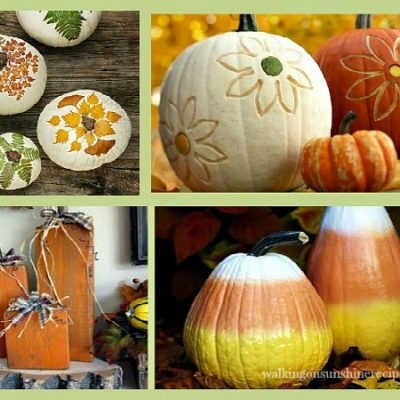 Pumpkin Decorating Ideas: A Collection of Ideas