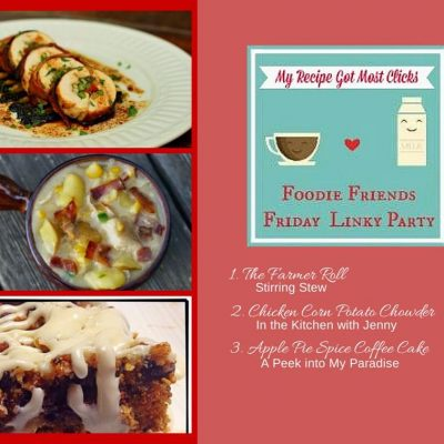 Foodie Friends Friday Linky Party #117
