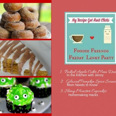 Foodie Friends Friday Linky Party #119