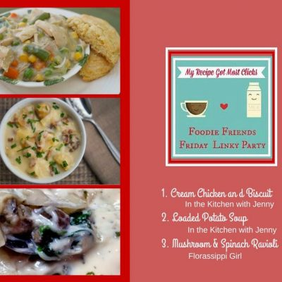 Foodie Friends Friday Linky Party #123