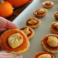 Mini Pumpkin Pie Treats