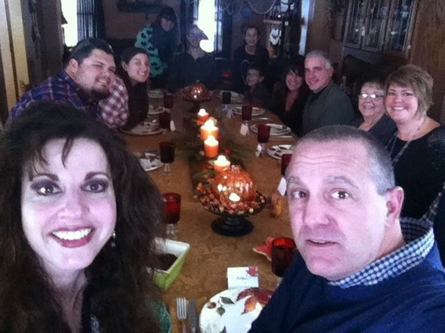 Celebrating Thanksgiving with the Family