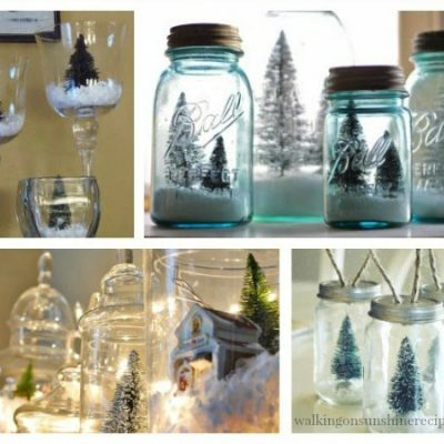 12 Christmas Terrariums Decorating Ideas