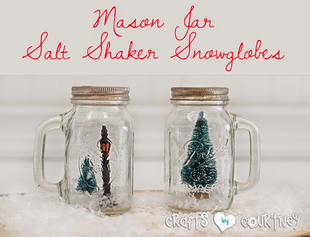 Salt and Pepper Terrarium Jars from Crafts by Courtney