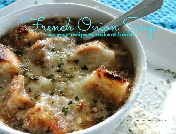 French Onion Soup and VIDEO