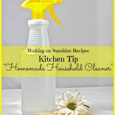 Tips: Homemade Household Cleaner