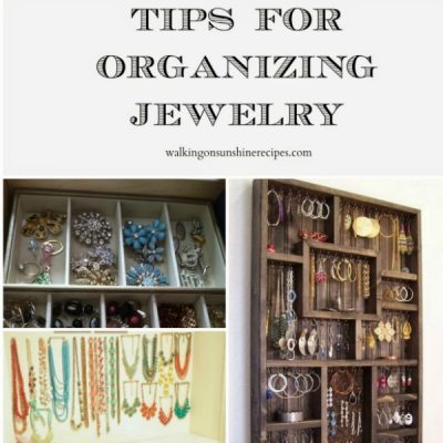Organizing Jewelry – Thursday's Tip