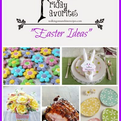 Easter Ideas for Fabulous Friday Favorites #12