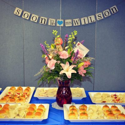 What to Serve for a Bridal Shower Luncheon