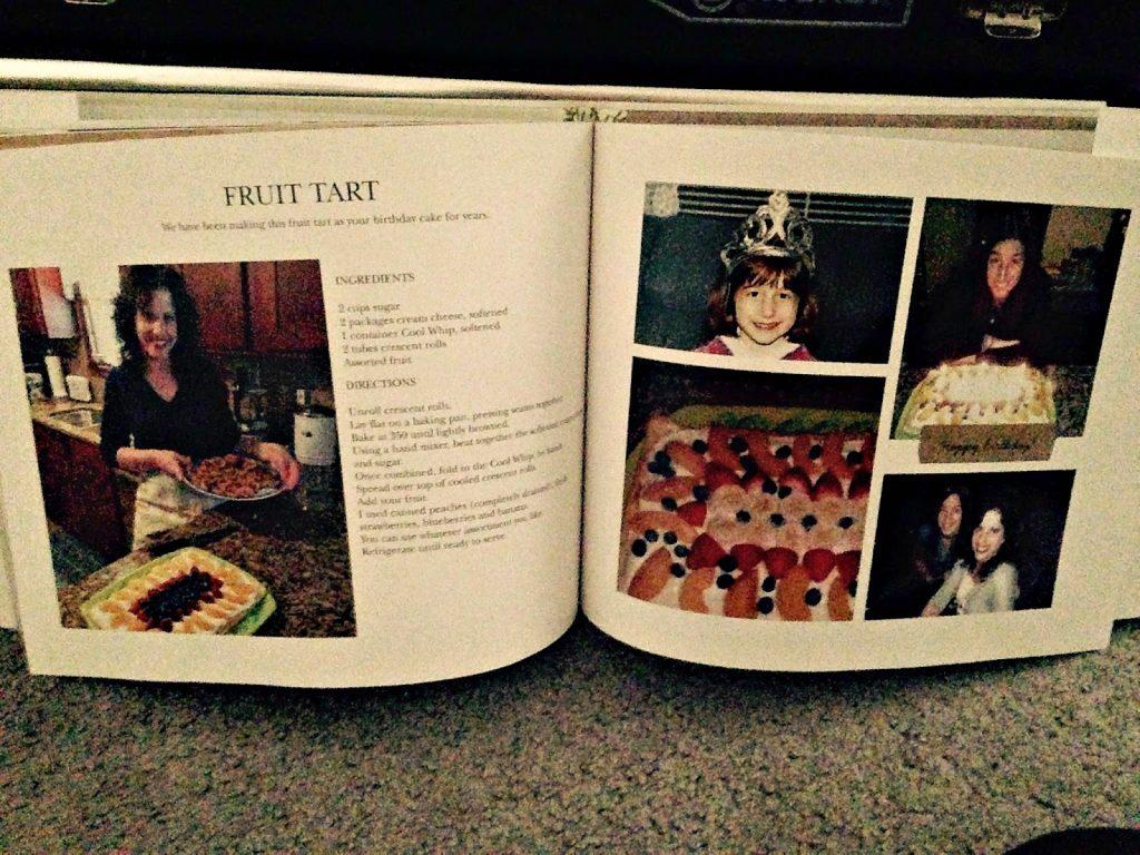 Shutterfly cook book
