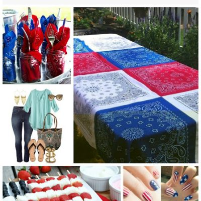 Holidays:  July 4th Ideas, Recipes and Decorating
