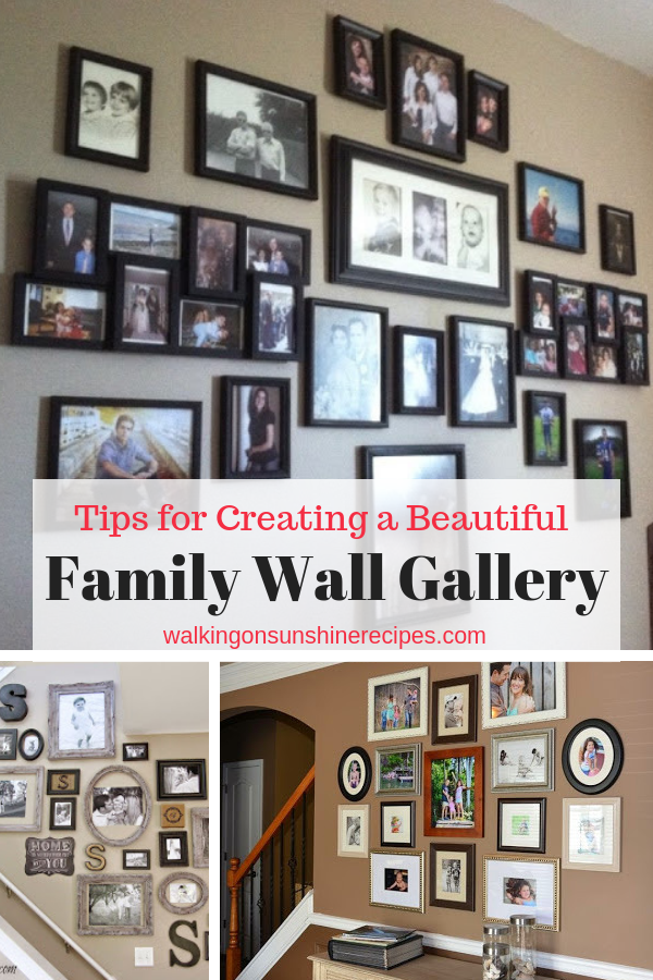 How To Create A Family Wall Of Photos Walking On
