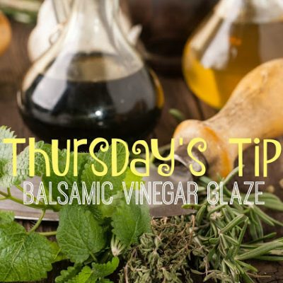 Recipe: Balsamic Vinegar Glaze