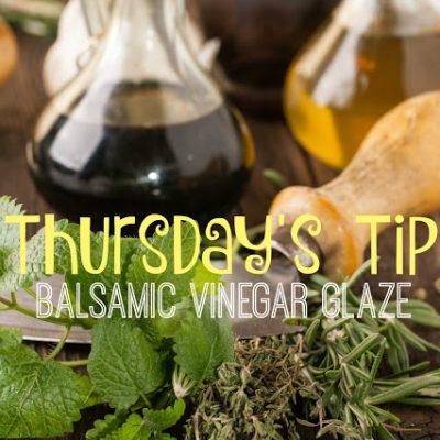 Recipe: Balsamic Vinegar Glaze