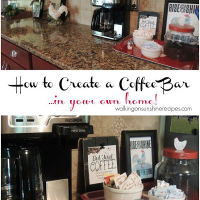 How to Create a Coffee Bar
