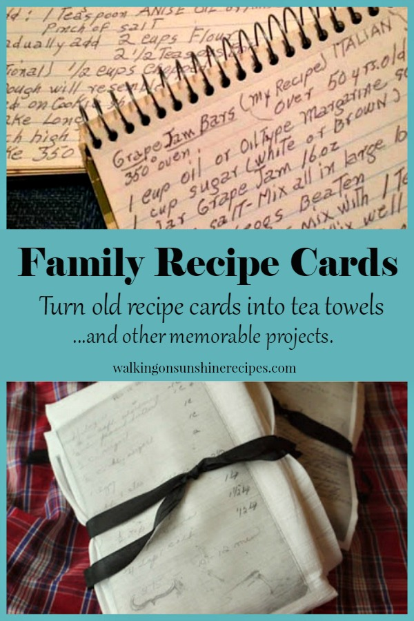christmas cards with recipes