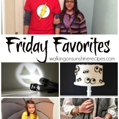 Friday Favorites #30 – Halloween Favorites