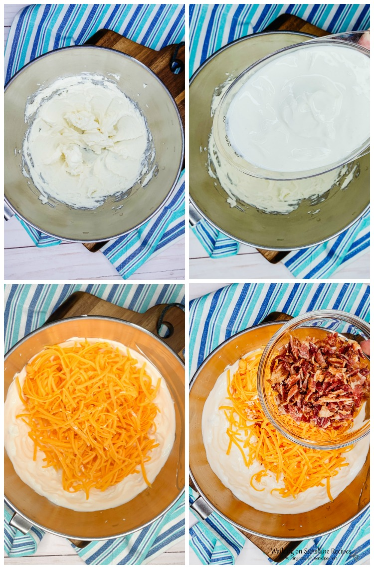 How to Make Warm Bacon Cheese Dip process from WOS