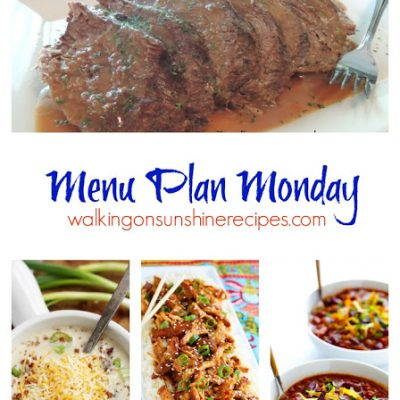 Menu Plan Monday #5