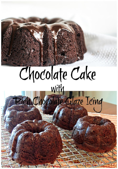 Ultimate Chocolate Cake from a Cake Mix with Rich Chocolate Glaze Icing