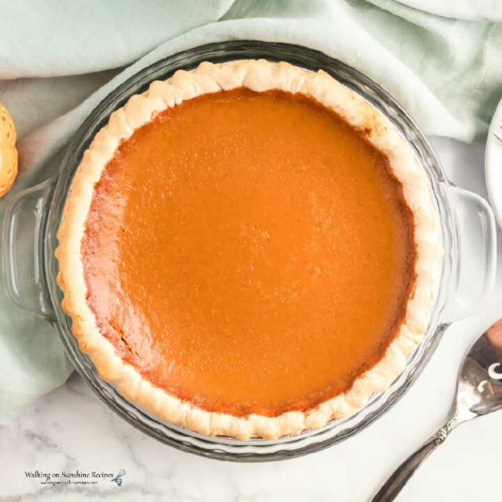 Pumpkin Pie Recipe from Scratch