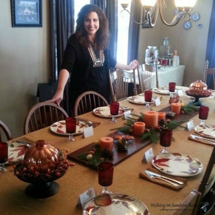 Thanksgiving Table 2014 from WOS