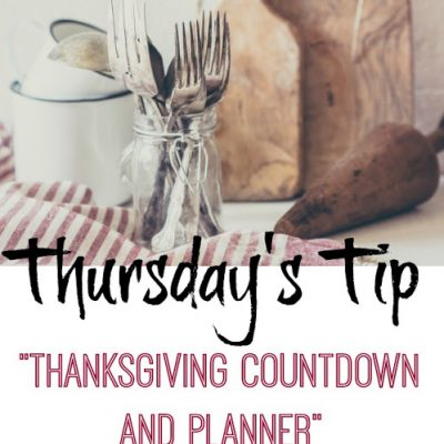 How to Prepare for Thanksgiving with a Countdown Plan