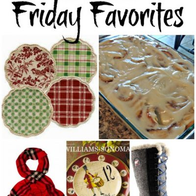 It's Beginning to Look a lot Like Christmas – Friday Favorites #33