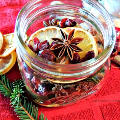 Simmering Potpourri - A Great Christmas Gift Idea