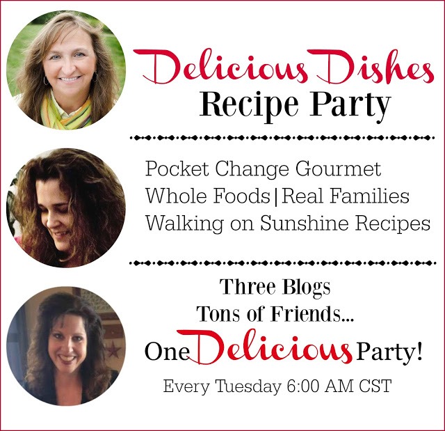 Welcome to the first Delicious Dishes Recipe Party from Walking on Sunshine Recipes.