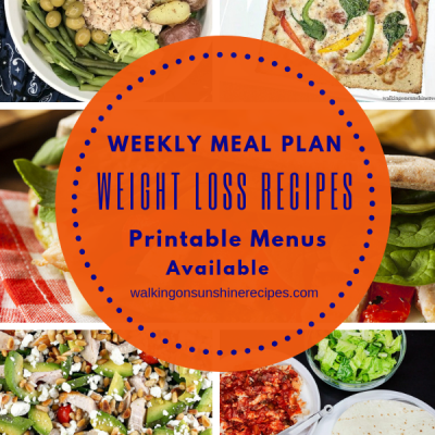 Weekly Meal Plan – Weight Loss Meals