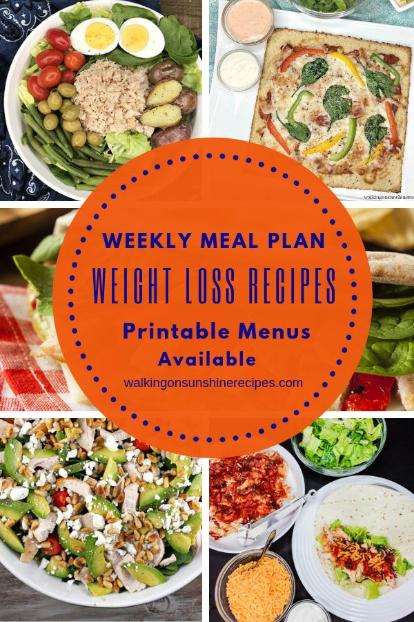 Weight loss recipes for meal plan