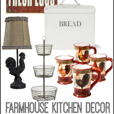 Farmhouse Kitchen Decor – Friday Favorites