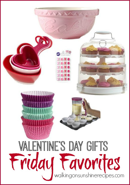 This week's Friday Favorites is all about Valentine's Day Gifts from Walking on Sunshine Recipes.