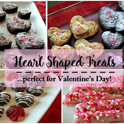 Recipe: Heart Shaped Treats and Recipes for Valentine's Day