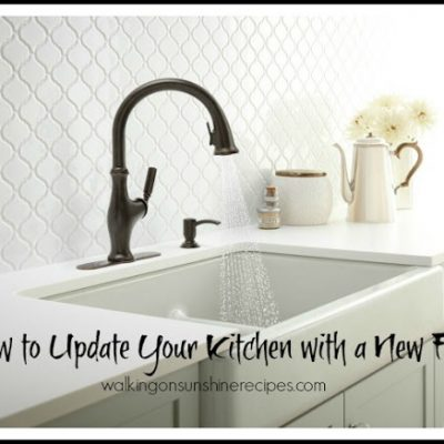 How to Update the Look of your Kitchen with a New Faucet from Kohler