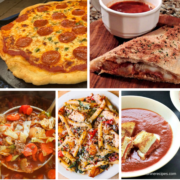 Easy delicious Italian Recipes for our weekly meal plan