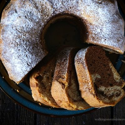 Marble Bundt Cake Recipe from a Cake Mix