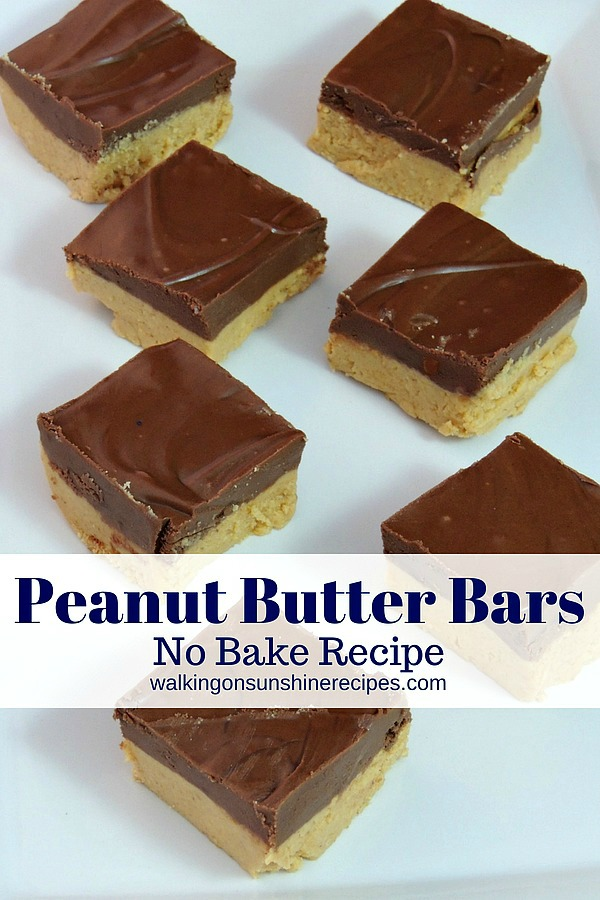 #2 No Bake Peanut Butter Bars