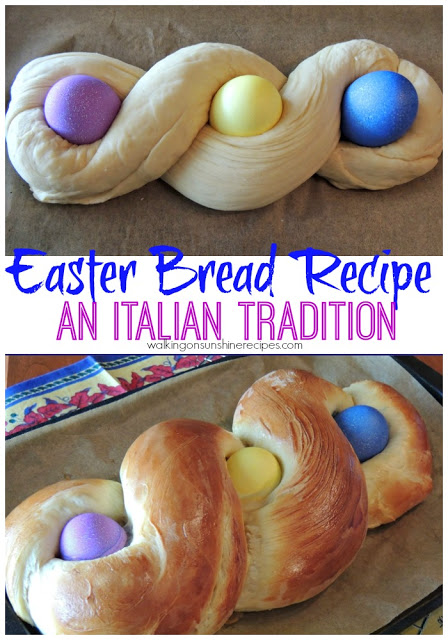 Easter Bread Recipe is a family tradition in our house from Walking on Sunshine Recipes