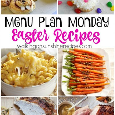 Easter Recipes Menu  – Menu Plan Monday