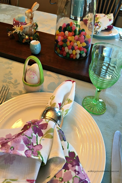 Preparing for Easter and Setting the Table