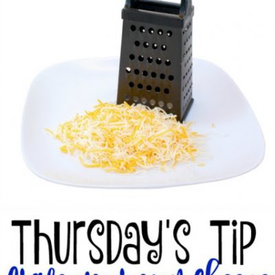 How to Grate Your Own Cheese