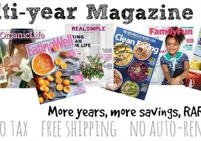 Huge Weekend Magazine SALE!