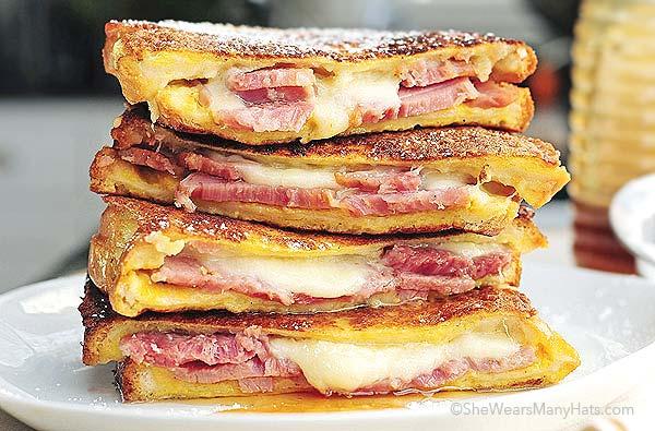 Monte Cristo Ham Sandwich