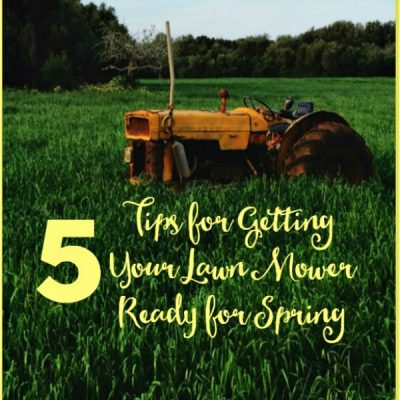 5 Tips for Annual Lawn Mower Maintenance