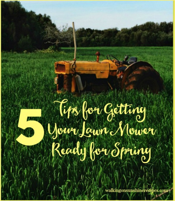 5 Tips for Getting your Lawn Mower Ready for Spring and Summer Gardening